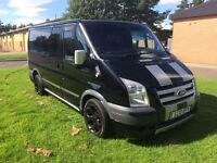 Ford transit trend sport 10 reg 5 seater showroom condition low mileage finance available