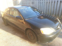 2002 Honda Civic Si Coupe (2 door) $1000 AS IS!!