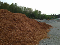 Topsoil, triple mix, mulch, river stone close to Barrie downtown