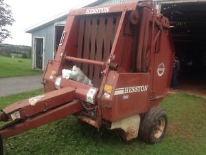 Heston round baler