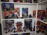 Updated Transformers G1-Prime. All series, must go! Great deals!