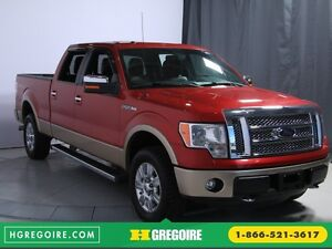 2012 Ford F150 Lariat 4WD CUIR TOIT MAGS BLUETOOTH