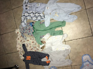 Boys newborn and 0-3 clothes