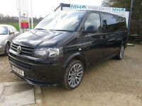 Volkswagen T-SPORTER T30 140 TDI LWB*NEW CAMPER CONVERTED*2 BERTH*LEATHER TRIM*