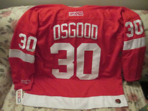 1996-2007 Detroit Red Wings Chris Osgood CCM 550 jersey