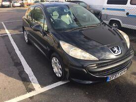 2007 PEUGEOT 207, 1.4 petrol, 2 door, mot. Manual