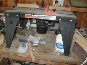Craftsman Router table & Router