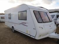 Compass Liberte Air 18/4 2005 4 Berth Fixed Bed Single Axle Touring Caravan