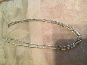 "30"" STERLING SILVER CHAIN"