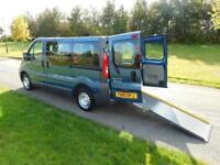 2010 Renault Trafic 2.0 DCi WHEELCHAIR ADAPTED ACCESSIBLE DISABLED VEHICLE WAV