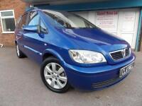 Vauxhall Zafira 1.6i 16v Breeze Petrol Manual Blue 7 Seater 2005 (55)
