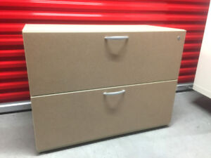 Stylish 2 Drawer Lateral File Filing Cabinet