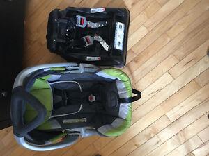 Porte-bébé et base d'auto BabyTrend