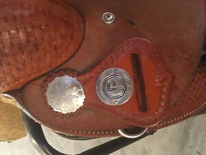 14.5 circle P barrel saddle