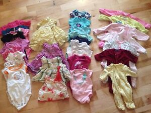 Gently Worn Baby Girl Clothes 0 - 12 Months