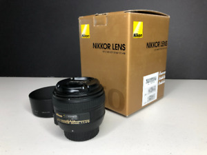 Nikon 50mm f/1.4G Mint Condition