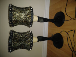 LEOPARD/CHEETAH LADY LEG LAMPS/HOME DECOR