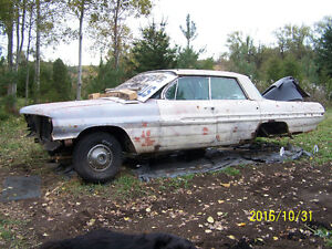 Scrapping 1962 PONTIAC   4 door hardtop & 1963 Chevrolet PARTS