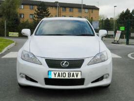 2010 Lexus IS 250 2.5 SE-L 2dr ( ACC/PCS ) ( Multimedia ) auto IN WHITE WITH FSH