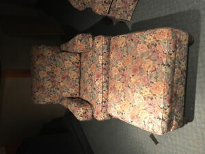 Couch, chair and ottoman for sale