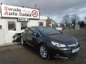 2015 VAUXHALL ASTRA 1.4 GTC SRI S/S 138 BHP-19,343 MILES - MANUFACTURER WARRANTY