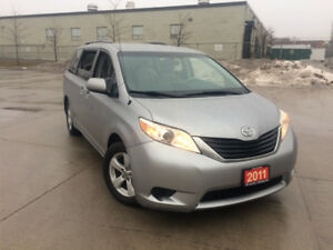 2011 Toyota Sienna,  LE,  8 Passenger, 3/Y Warranty available