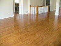 Old floors refinished like new.