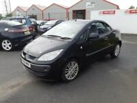 2008 58 MITSUBISHI COLT CABRIOLET 1.5 CZC2 IN BLACK.1 OWNER FROM NEW.FULL SH .
