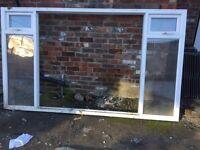 Large newish upvc window