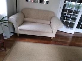 2 2 seater sofas. V good contrition.