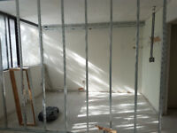 Framing, drywall, painting, and upholstery deep cleaning.