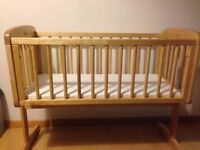 Mothercare crib in perfect condition