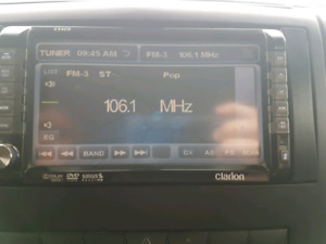"""Clarion 7"""" Touch Screen radio"""