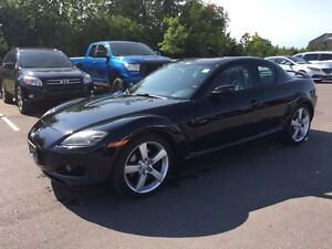 2004 Mazda RX-8 * 5 Speed Manual, SUNROOF, LEATHER, HTD STS *