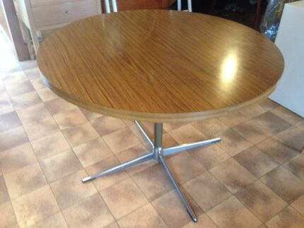 retro round dining table great condition sebel style Woolloomooloo Inner Sydney Preview