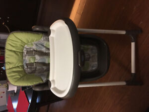 Graco Highchair and Vtec 4 in 1 Train
