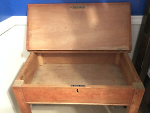Antique Slant-top School Desk Oakville / Halton Region Toronto (GTA) image 3