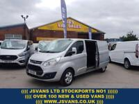 2015 15 FORD TRANSIT CUSTOM 2.2 290 LIMITED LONG WHEEL BASE 1 OWNER TOP SPEC DI