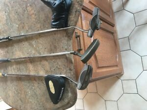 PING AND C-GROOVE L/H PUTTERS, IN MINT CONDITION