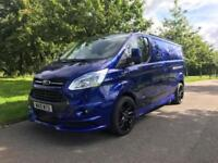 2015 FORD TRANSIT CUSTOM 2.2 290 LIMITED RS STYLING PACK 125 BHP LWB L2 AIR CON
