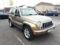 2005 Jeep Cherokee 2.8 CRD Diesel Limited From £4,895 + Retail Package 4x4 Diese