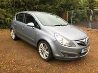 2007 Vauxhall Corsa 1.3CDTi 16v- 90ps-a/c SXi-MOT 03/18-5 SERV STAMPS - 2 KEYS
