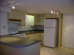 Spacious 2 Bedroom Basement Apartment ( Westmall and Bloor)