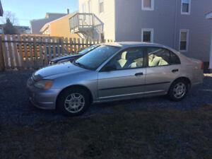 2001 Honda Civic trade or sell