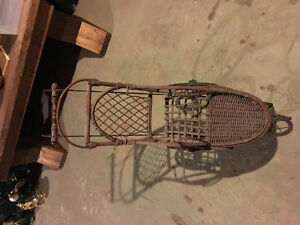 Antique - Wicker Doll Stroller