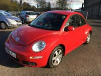 5909 Volkswagen Beetle 1.4 Luna Red 5 Door 67519mls MOT Sep 2018