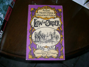 book North-west Mounted Police  Law & Order 1886-1887 RCMP