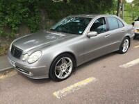 2002 52 Mercedes-Benz E270 2.7 TD DIESEL CDI 177 BHP Avantgarde AUTO SALOON