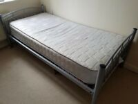 Single bed and mattress for £85