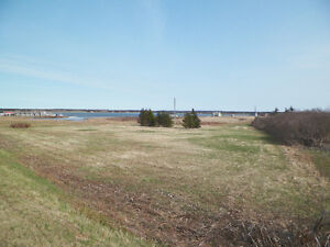 Beautiful water view lot ready to build on